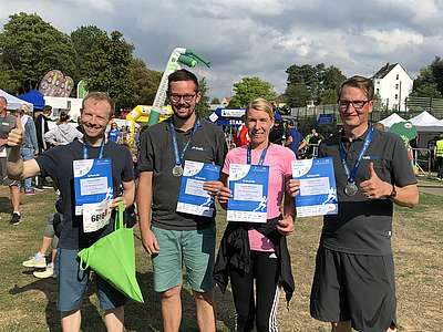 On Sunday 01.09. some HEUTE colleagues as well as managing director Christian Löwe were represented at the Miss Zöpfchen run in Solingen.