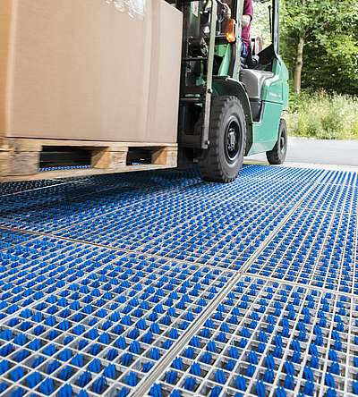 What is the maximum load the ProfilGate® cleaning fields can withstand?